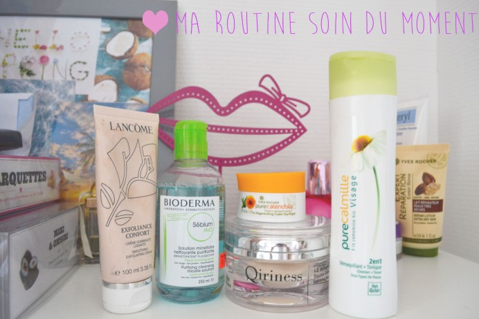 Routines soin du moment